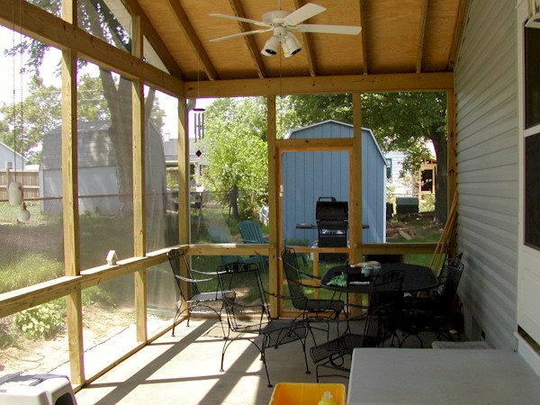 Build Screened In Porch